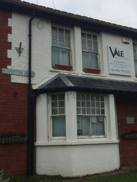 Vale Solicitors LLantwit major exterior view